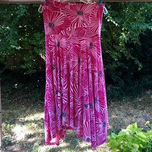 🌸 Lapis convertible dress or skirt Sz L